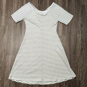 Zara Fit and Flare Casual Dress
